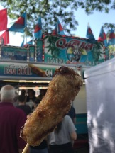 Giant Egg Roll on a Stick