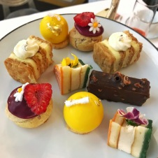 afternoon tea pastries