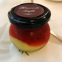 afternoon tea: Harrod's trifle