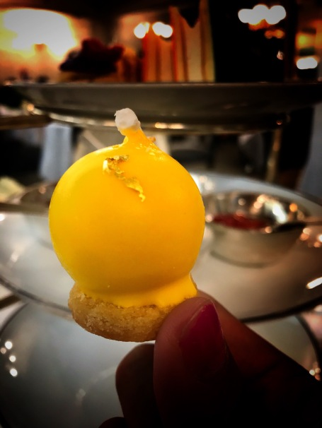 afternoon tea: lemon curd truffle